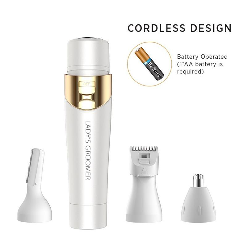 4 In 1 Flawless Women S Painless Hair Removal Electric