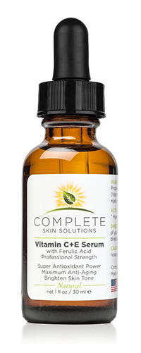 Complete Skin Solutions Vitamin C + E Serum With Ferulic Acid