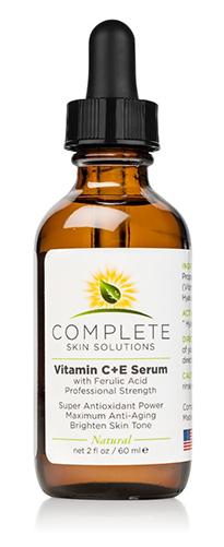 Complete Skin Solutions Vitamin C E Serum With Ferulic Acid Pro Size