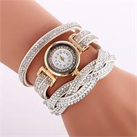 Radiant Crystal Watch - White