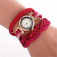 Radiant Crystal Watch - Red