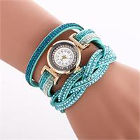 Radiant Crystal Watch - Teal