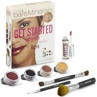 bareMinerals Get Started Eyes,Cheeks,Lips (Tan-To-Deep)