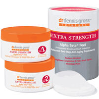 Dr Dennis Gross Alpha Beta Extra Strength Daily Face Peel-2 Steps (30 Day Supply)