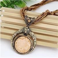 Bohemian Necklace Beige