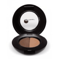 GloMinerals GloBrow Powder Duo-Brown (0.04 oz)