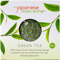 Japanese Konjac Sponge Green Tea