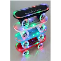 Super Cool Skateboard Style Wireless Bluetooth LED Speaker/Boombox