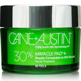 Cane+Austin 30% Glycolic Miracle Pads - 60 Pads