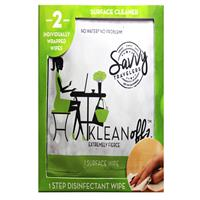 Savvy Traveler Klean Offz Surface Wipes