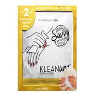 Savvy Traveler Klean Upz Antibacterial Hand Sanitizing Wipes