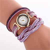 Radiant Crystal Watch - Lavendar