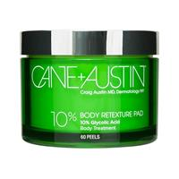 Cane+Austin Retexturing Body Pads 10% Glycolic - 60 Pads