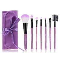 7 Piece Purple Make-Up Brush Set