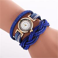 Radiant Crystal Watch - Blue