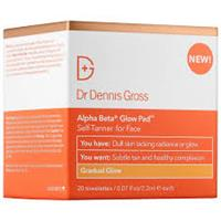 Dr Dennis Gross Alpha Beta Glow Pad For Face (20 Wipes) - Gradual Glow