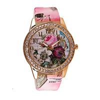 Vintage Paris Bright Pink Watch