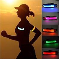 LED Slap Band Glow Bracelet - Yellow